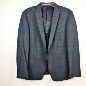 John Varvatos Star USA Slim Fit Suit Jacket plaid